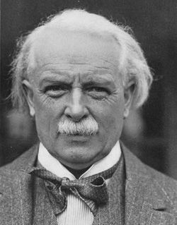 David Lloyd George,  Prime Minister of Britain during WW1, part of the Triple Entente.