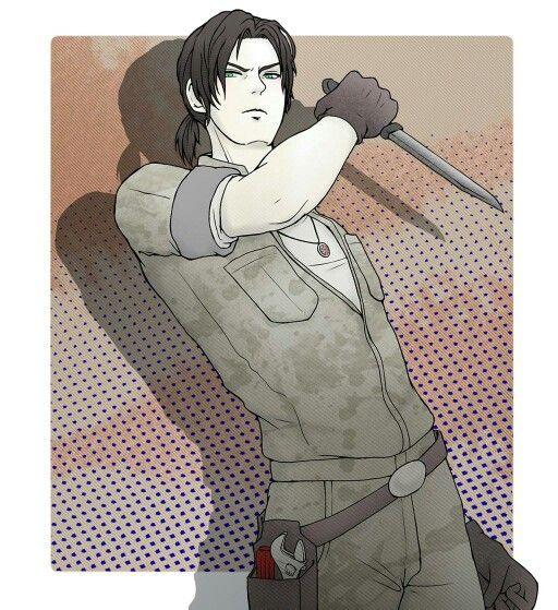 David King --- Resident Evil Outbreak