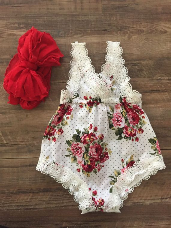 Baby floral romper. WHY ISN'T THIS IN ADULT SIZE?!