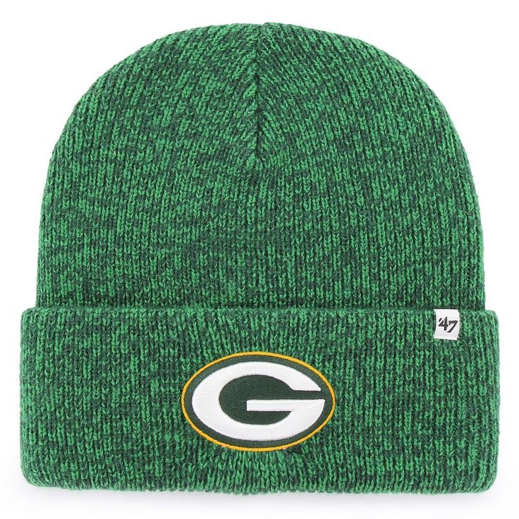 Green Bay Packers '47 Brain Freeze Cuff Knit Hat