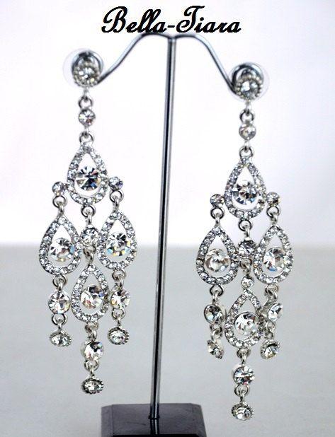 152 best Gorgeous Chandelier Earrings images on Pinterest ...