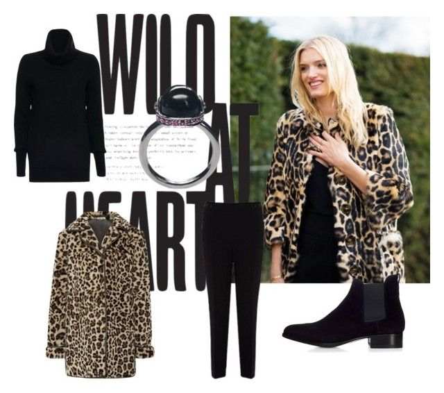 """""""Wild at Heart"""" by kissthecrownedfrog on Polyvore featuring Karen Millen, Christopher Fischer, Miu Miu, women's clothing, women, female, woman, misses and juniors"""