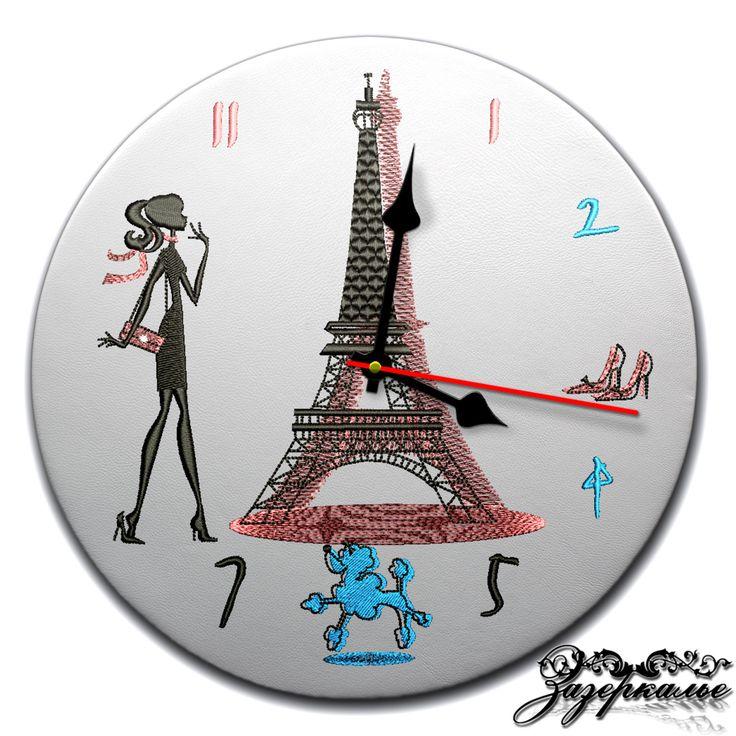 """Часы """"Эйфелева башня"""". Для романтичных девушек и любителей Парижа."""