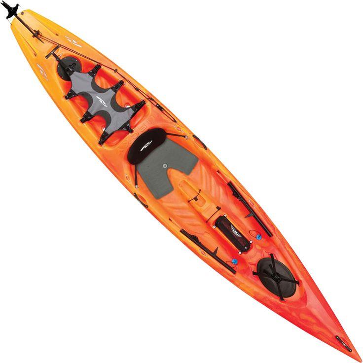 Necky vector 13 kayak with rudder sale necky for Dicks fishing kayak