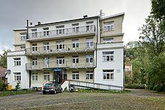 """Palace """"Katownia Podhala"""" – komisariat Gestapo, który od października 1939 r. do stycznia 1945 r. mieścił się w Hotelu Palace przy ulicy Chałubińskiego 7 w Zakopanem. Ze względu na okrutne tortury stosowane w czasie przesłuchań miejsce to zostało nazwane Katownią Podhala"""