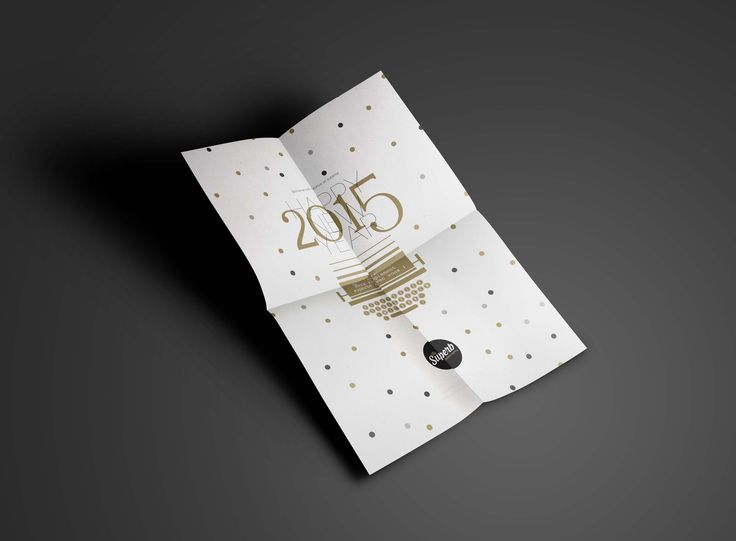 Happy new Year 2015 poster