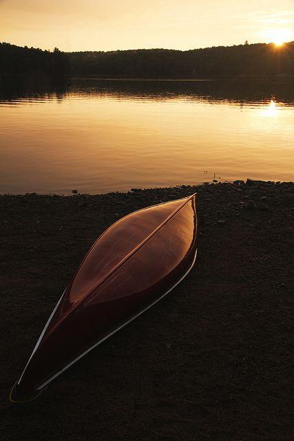 Big Hawk Lake, Algonquin Highlands, Ontario, Canada.