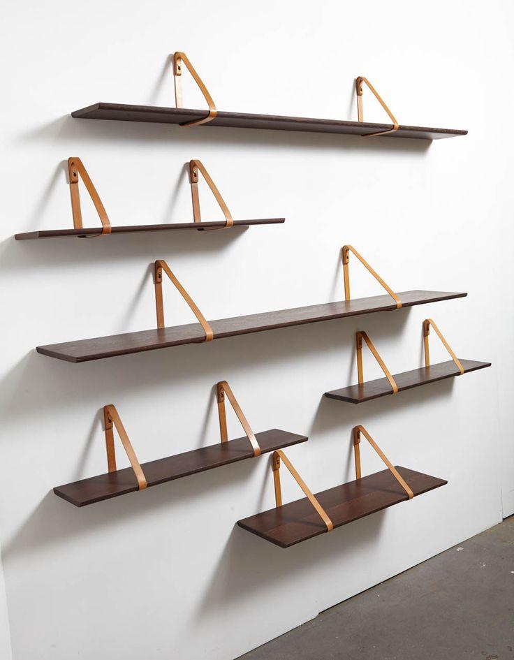 Set of Six Shelves by Kai Christiansen