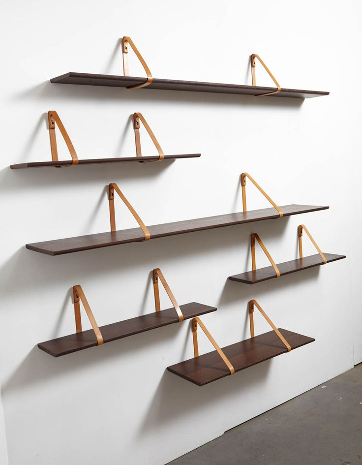Set of Six Shelves by Kai Christiansen