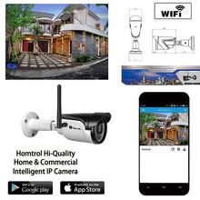 Smart Home Wifi IP 66 ONVIF Waterproof Outdoor IR CUT Night Vision Plug and Play Mini Bullet Wifi Ethernet IP Camera