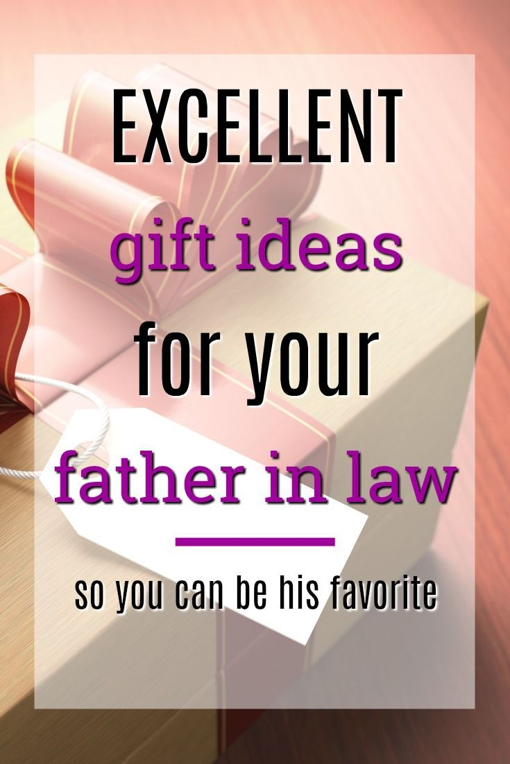 Xmas gift ideas for father in law