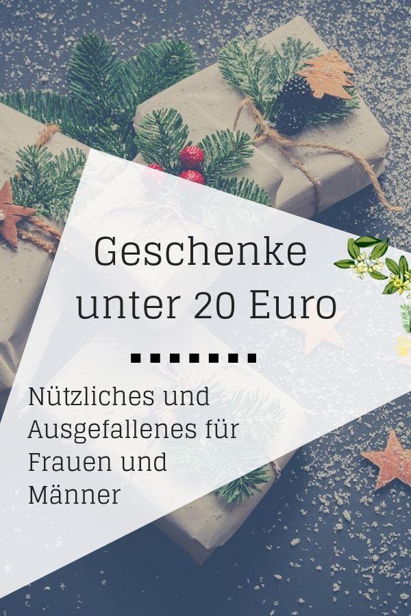 Geschenke Unter 20 Euro Fur Frauen Und Manner Vivabini Gunstige Geschenke Ausgefallene Geschenke Geschenke