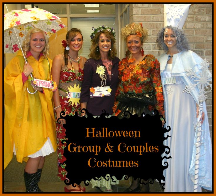 Four-Seasons-Group-Costume-Spring-Summer-Mother-Nature-Fall-Winter-2.jpg 941×852 pixels
