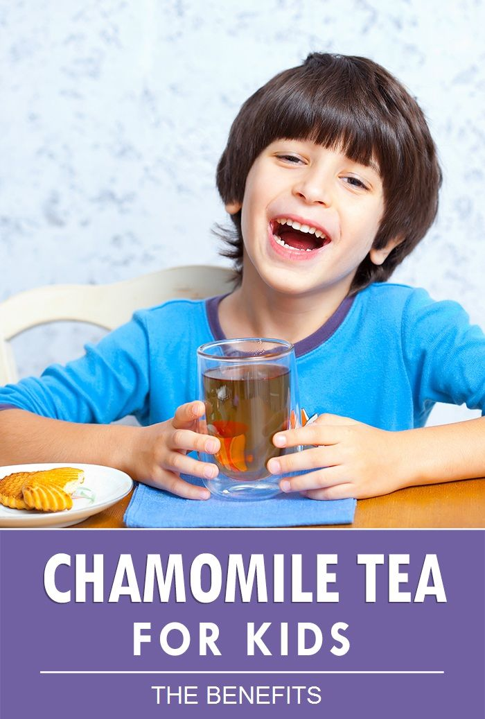 Chamomile tea toddler sleep
