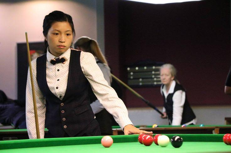 Katrina (Ka Kei) Wan, 2017 Paul Hunter Women's Classic. 🌍 Women's Snooker (@WLBSofficial)   Twitter