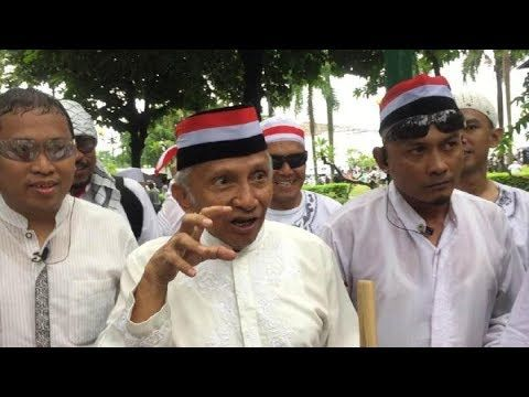 Amien : Jokowi itu penakut, sama ormas aja takut