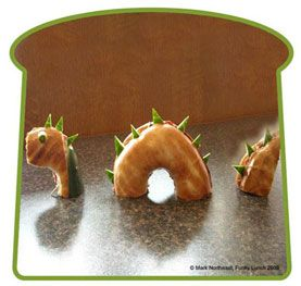 Monster Bagels? (and lots of other dino food ideas!)