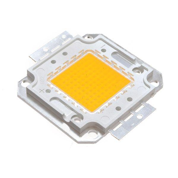 100w bianco / bianco caldo alto più luminosa luce LED chip di lampada 32-34v