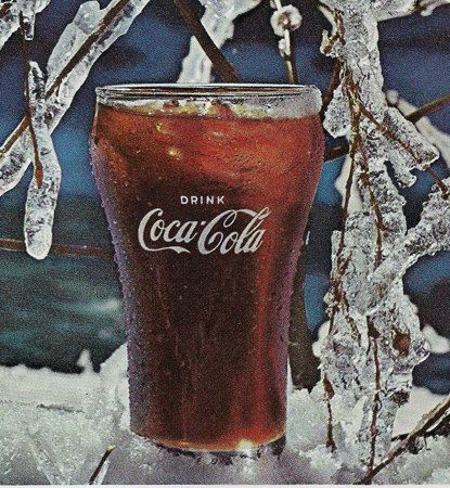 A personal favorite from my Etsy shop https://www.etsy.com/listing/76120390/sale-vintage-coca-cola-ads-mid-century