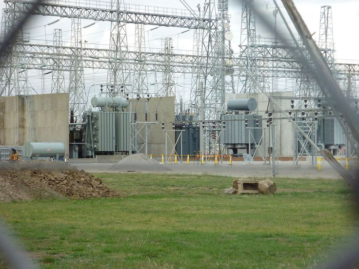 Electrical substation - Wikipedia