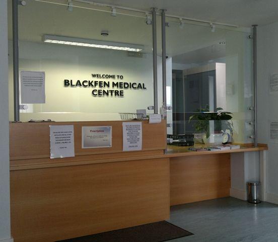 Medical Reception Desk Security Screen