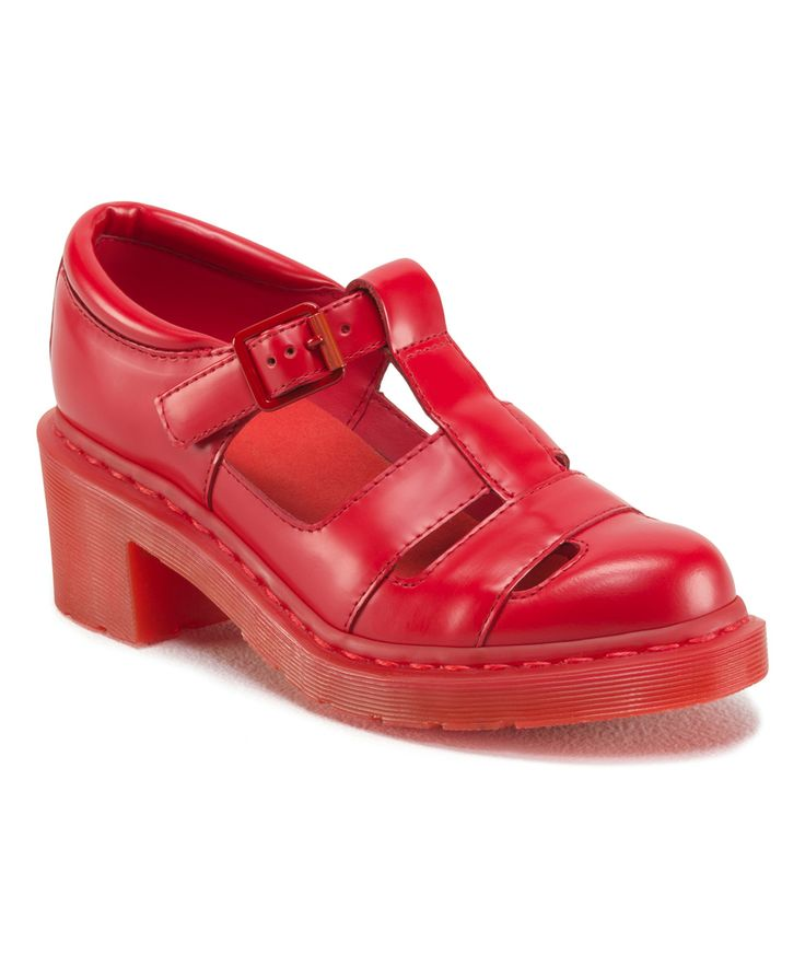 Dr Martens Poppy Red Shoes