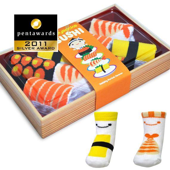 BabyQshop - Sushi Socks