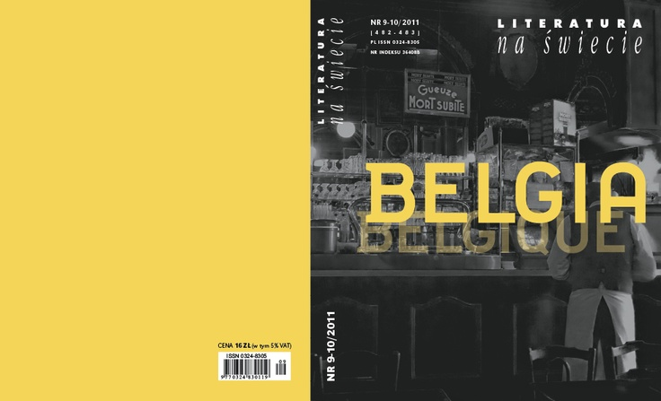Literatura na Świecie (9-10/ 2011) Belgia