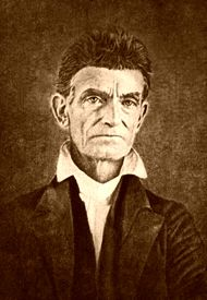 John Brown, famous abolitionist who is best know for his raid on Harper's Ferry was born on May 9, 1800.