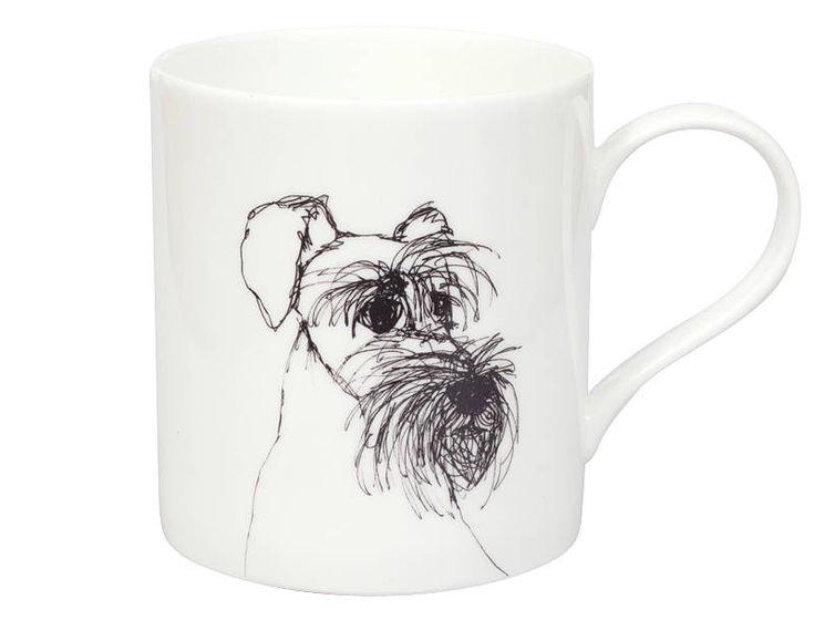 Schnauzer Mug from notonthehighstreet.com