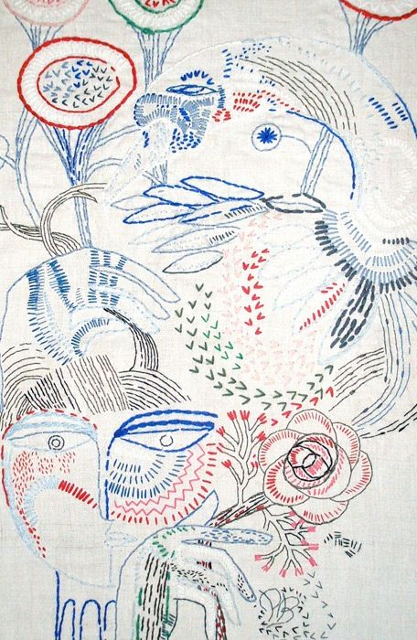 petra borner embroidery