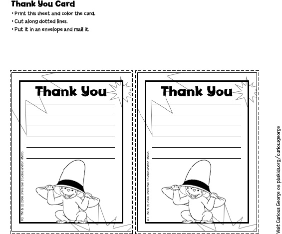 Printable black and white Curious