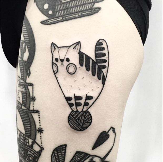 #tattoofriday - Hugo Tattooer, Coréia do Sul;