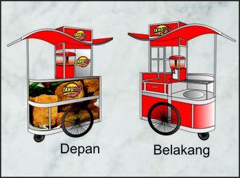 Sribu.com | Desain gerobak (booth)