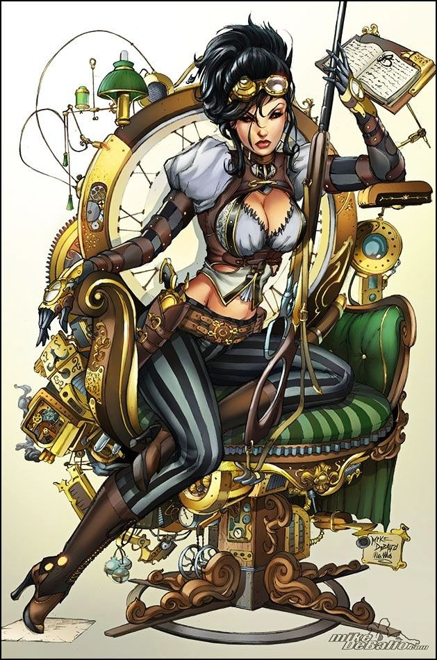 Lady Mechanika, cover art