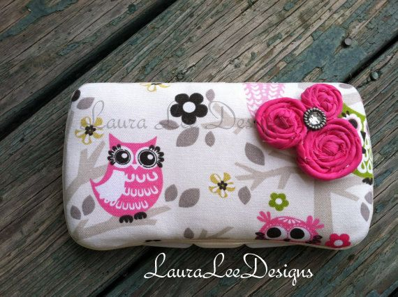 Owls in a Tree with Rolled Flowers Boutique by LauraLeeDesigns108, $12.00
