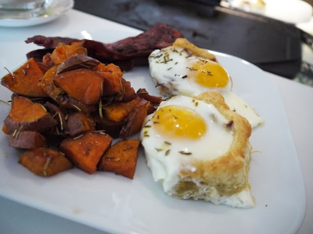 Puff Pastry and Eggs