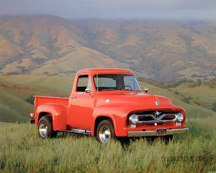 Simply Stunning! If you want to transform look of your living space, bedroom or living room, add this wonderful hot red ford f-100 John Wagner pickup truck. This truck art print poster will add a charming character into your home and it will be an idle gift for any truck lover. It goes well with any decor pattern and brings you many compliments from your guests. We offer durability and perfect color accuracy which keep long lasting beauty of the product.