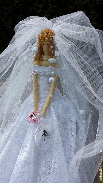 Куклы Тильды ручной работы. Ярмарка Мастеров - ручная работа кукла Невеста. Handmade.