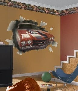 17 Best Images About Muscle Car Decorating On Pinterest Wall Mount Wall Racks And Vintage