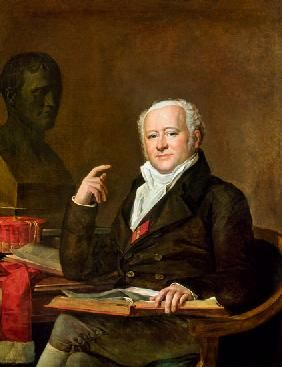 Portrait of Jean Nicolas Corvisart