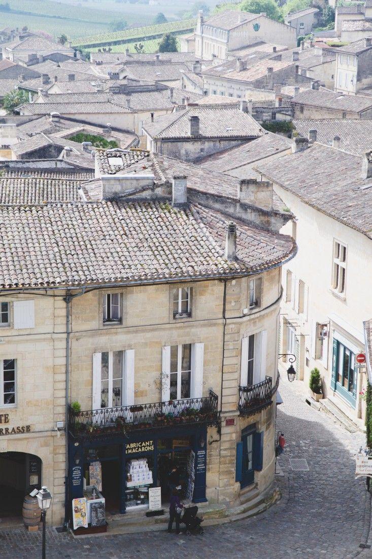 La paisible ville de Saint-Emilion