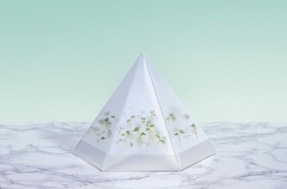 Micro green kit #Packaging #Biobeauty #Sweden #TomorrowMachine  #sustainable #environmental