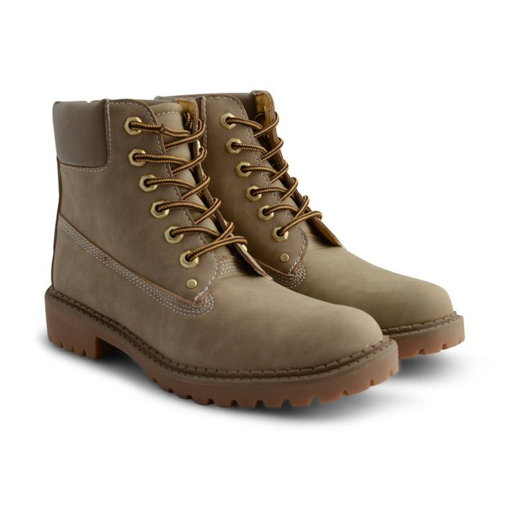 Ellen Lace Up Combat Ankle Boots