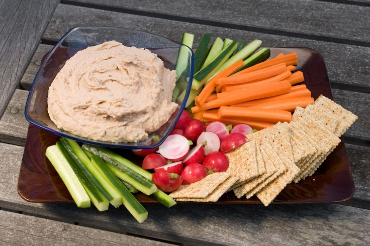 This easy, healthy dip is made with tangy whipped white beans, olive oil, and chives.