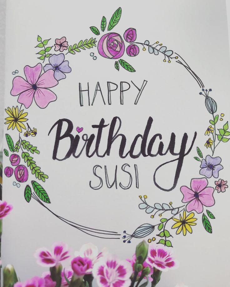 Herzlichen Gluckwunsch Zum Geburtstag Kann Geburtstagskarte