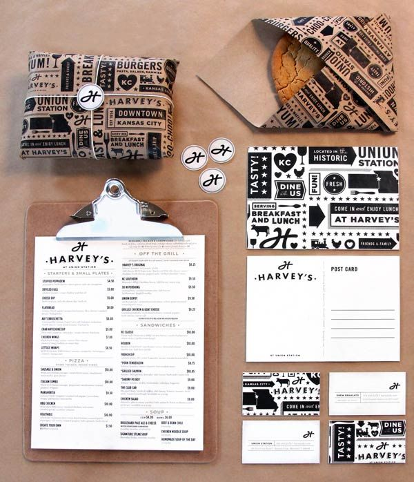 Harveys Brand Design by Tad Carpenter