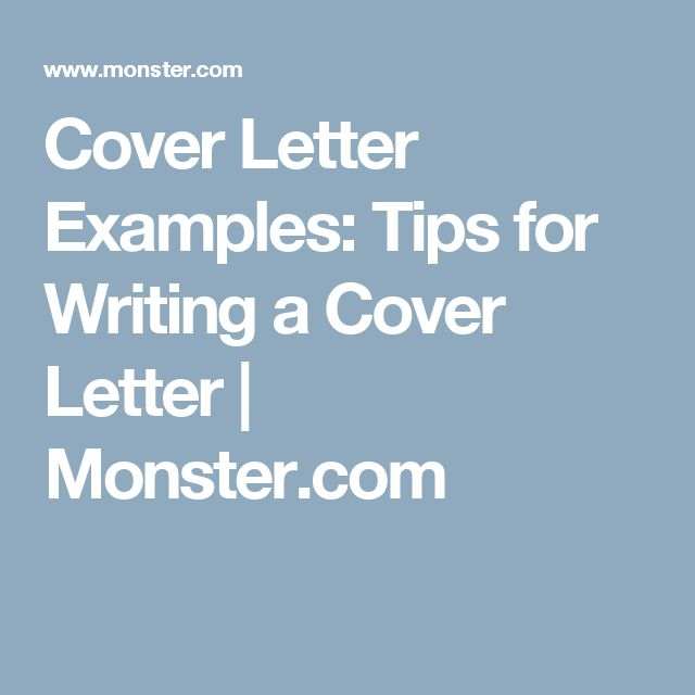 Best ideas about Sample Of Cover Letter on Pinterest   Examples