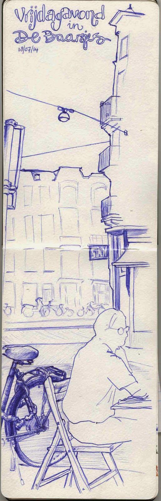 Urban Sketching: Finding focus - Urban sketching 1 - Sketchbook Skool: Boot Kamp