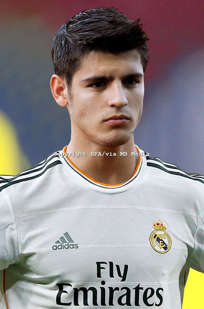 Álvaro Morata. Real Madrid.